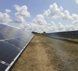 Jolywood 5.6MW Bifacial SPP built in Ukraine