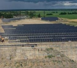 N-type Bifacial solar power plant in Ukraine
